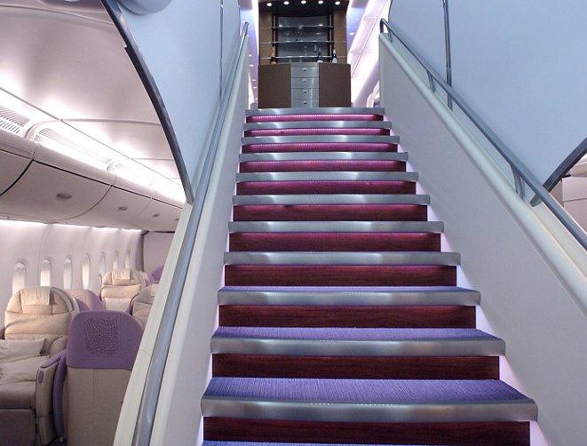 A380 Airbus Cabin   Forward Stairs1