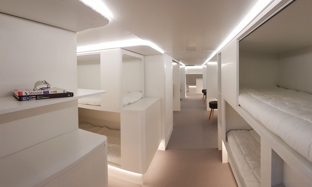 New lower-deck sleeping berths planned with Zodiac Aerospace partnership