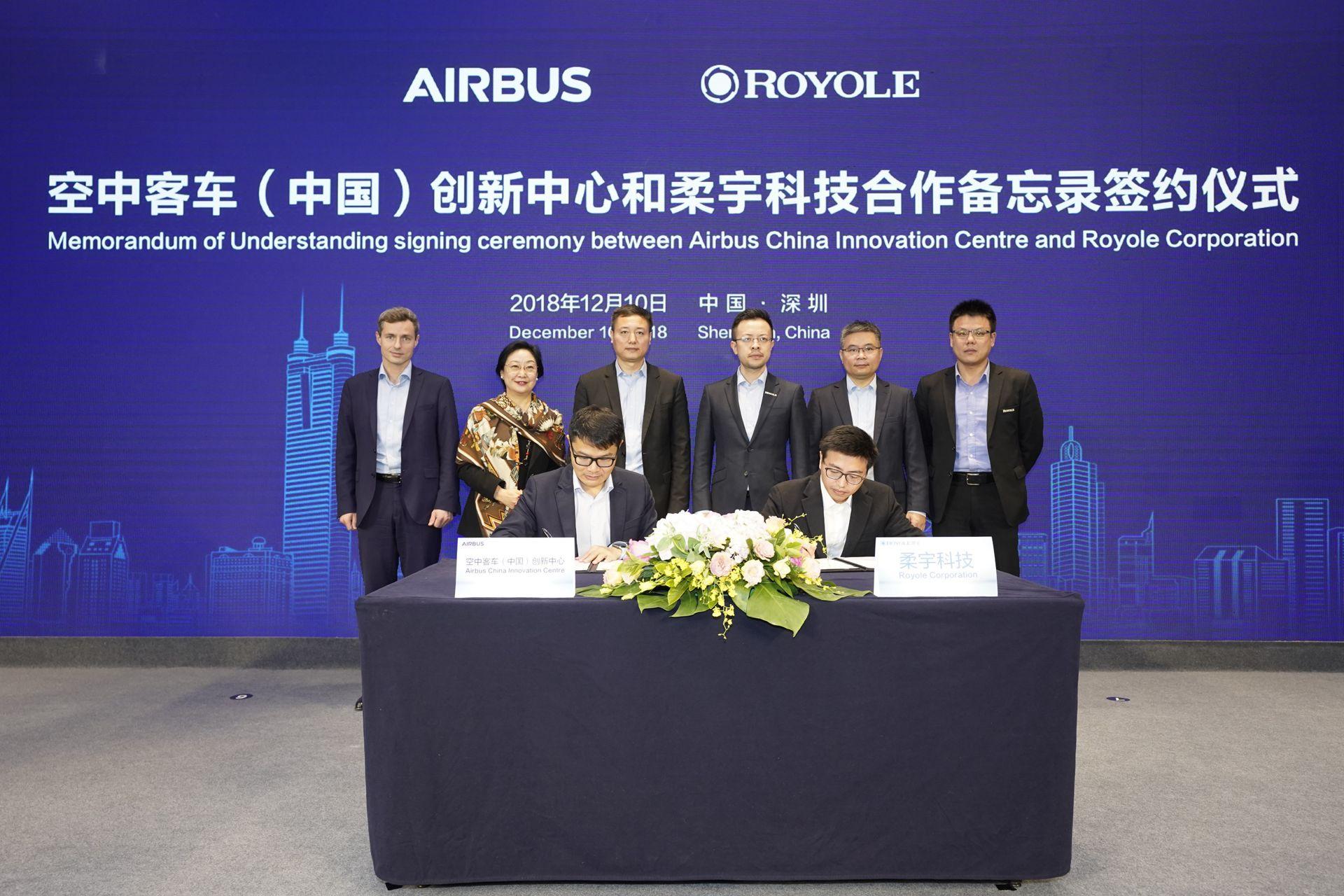 Resultado de imagen para Airbus y Royole Technology
