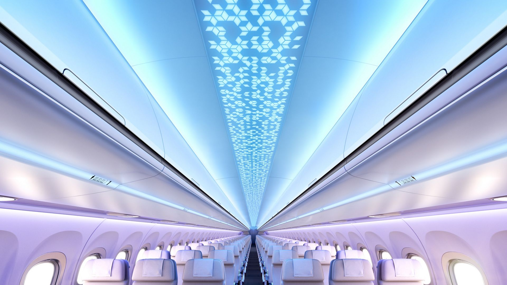Home Ceiling Designs Airbus Launches New A320 Airspace Interior