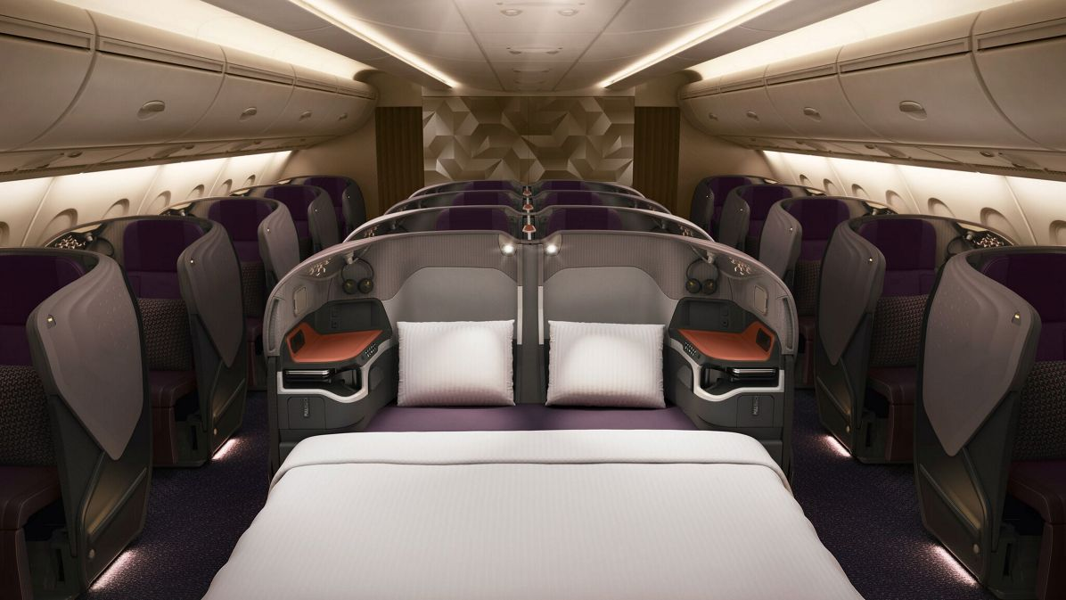 Y Class Singapore Airlines