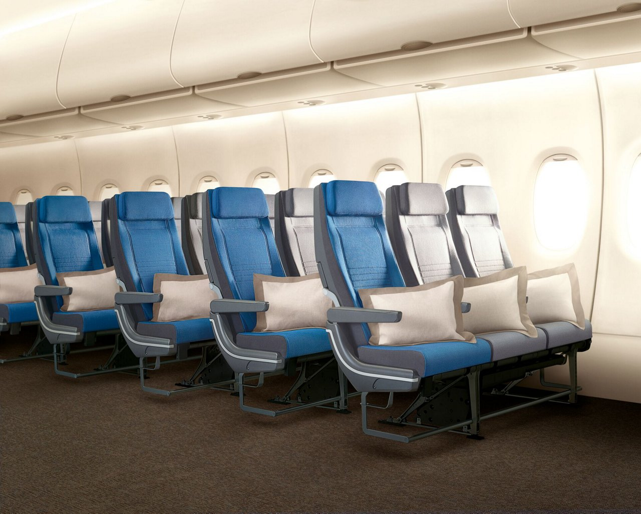Pictures: The Lufthansa Airbus A380 Business and Economy ...