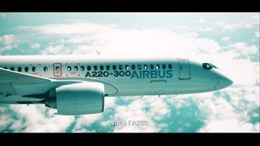 FR   Airbus A220 Mockup