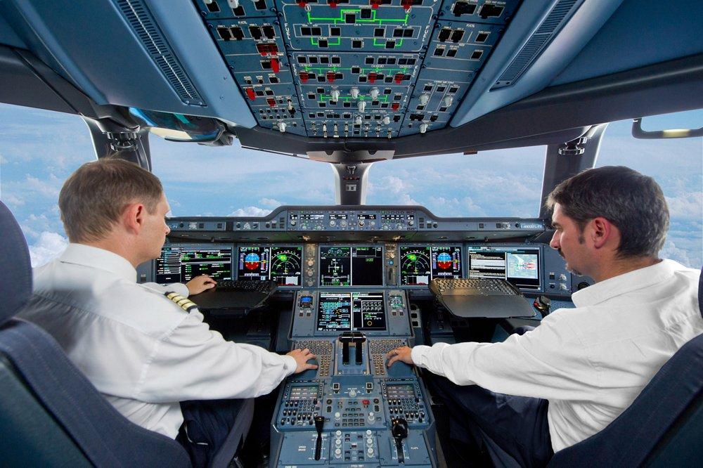 Simu Cockpit A350XWB