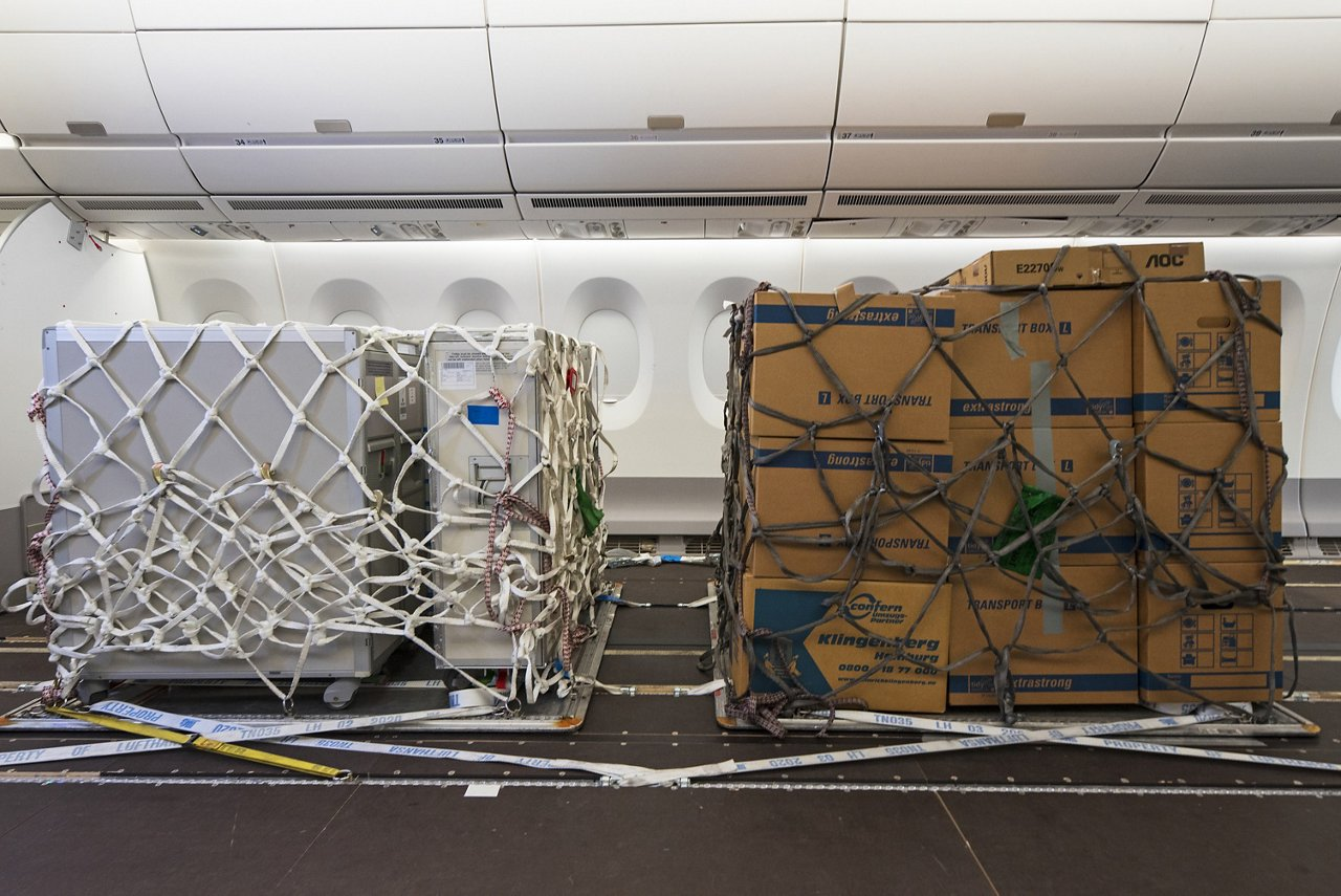 Trial for Cargo in Cabin -  For illustration purposes only