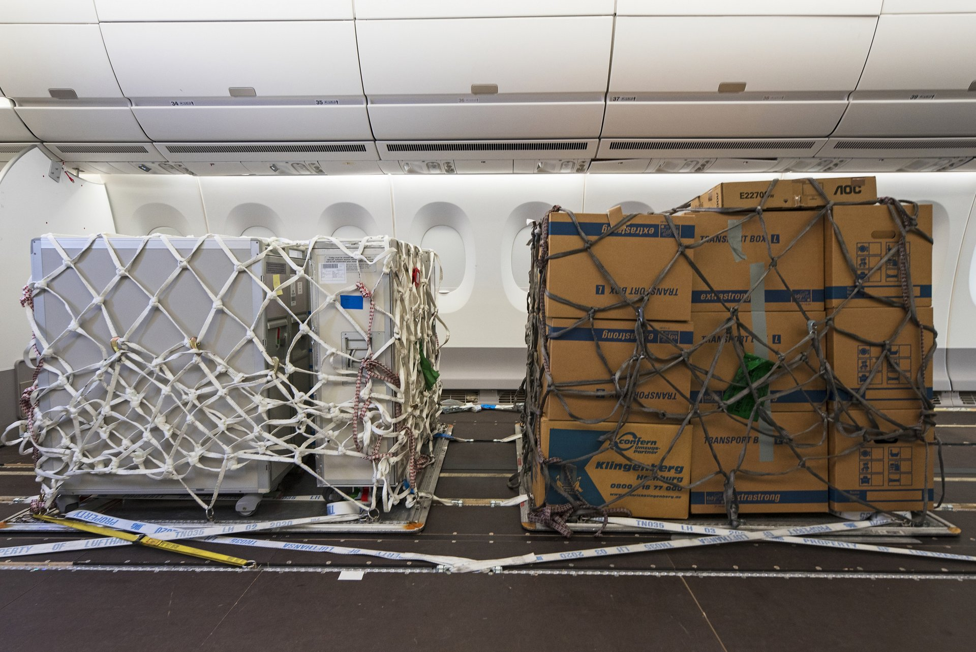 Trial for Cargo in Cabin - 