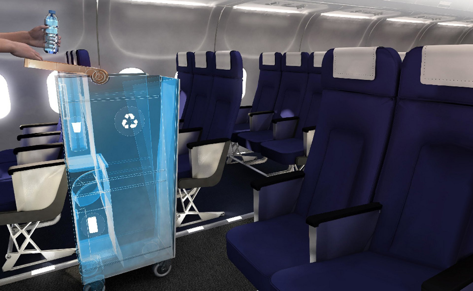 "An innovative solution to in-flight waste comes from the ""Fly Your Ideas"" student challenge"