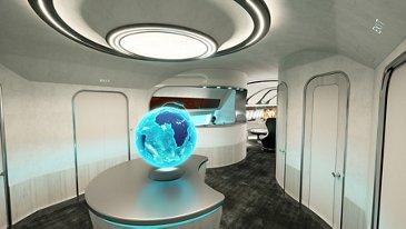 Harmony cabin concept - Entrance