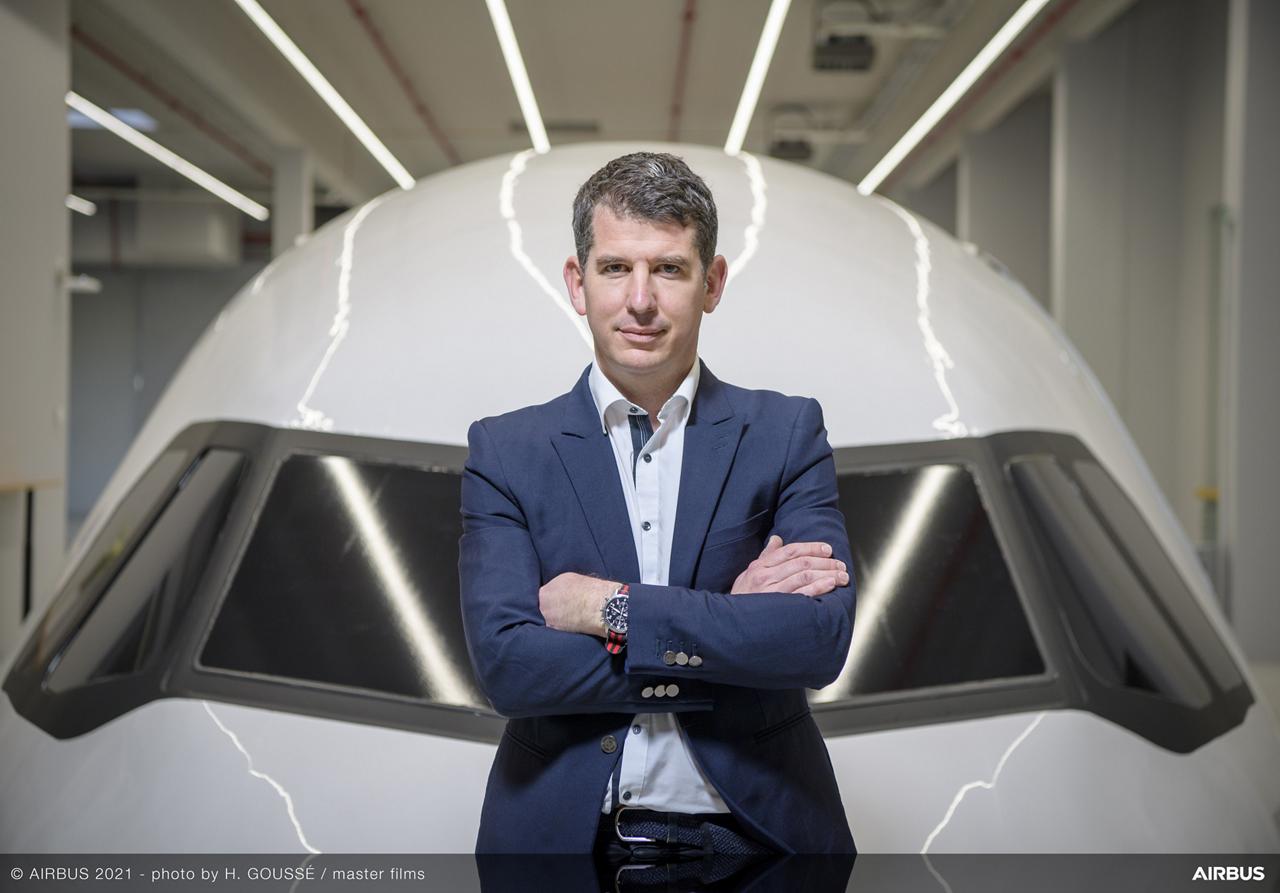 Sylvain Mariat, Head of ACJ Creative Design.