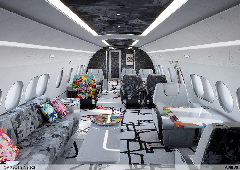 ACJ TwoTwenty Special Cabin Edition Cyril Kongo Business Lounge
