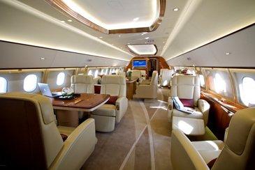 Comlux Airbus ACJ319 Main Cabin
