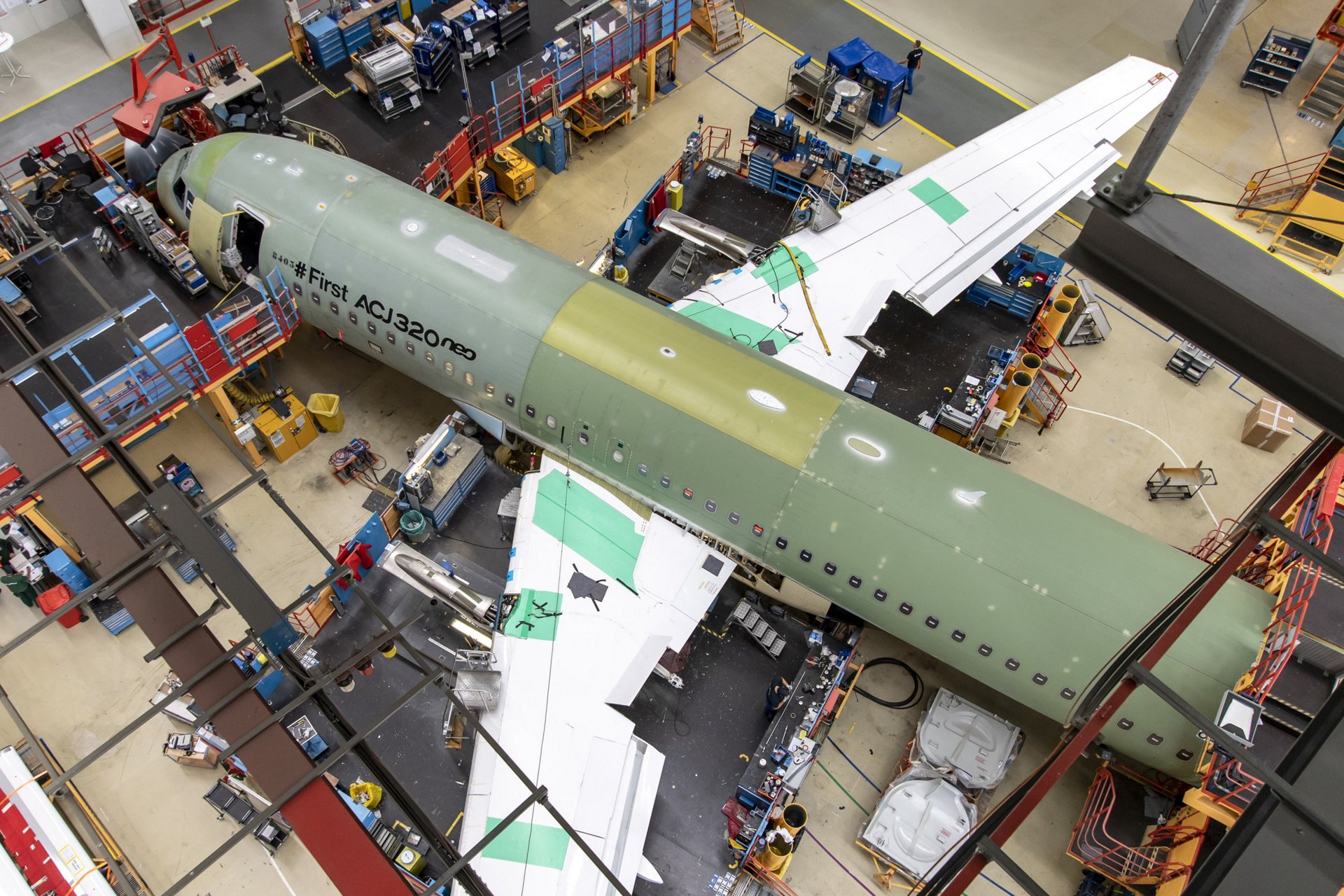 First ACJ320neo final assembly – Hamburg, Germany