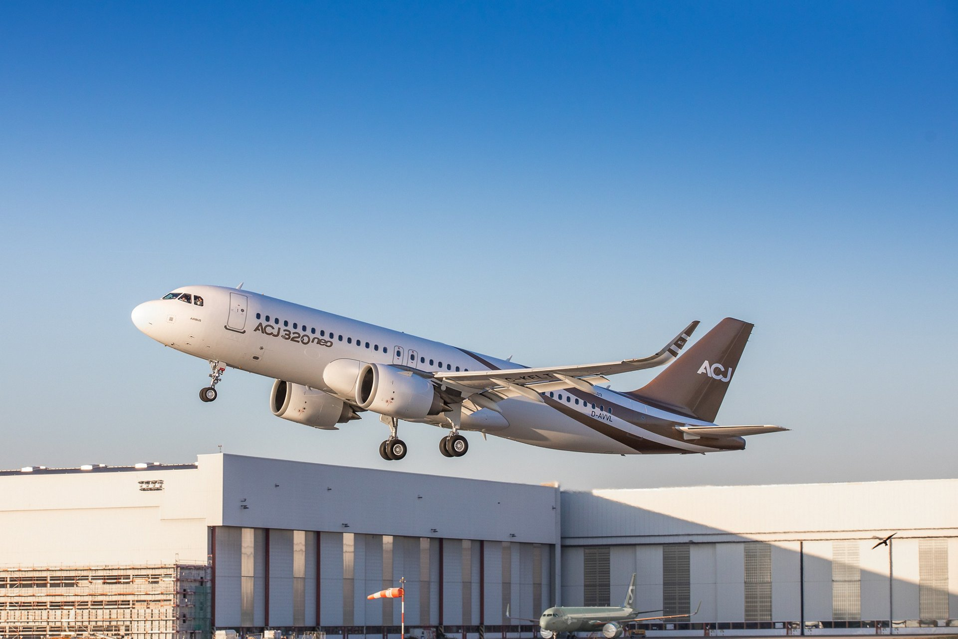 First ACJ320neo takes to the sky for the first time