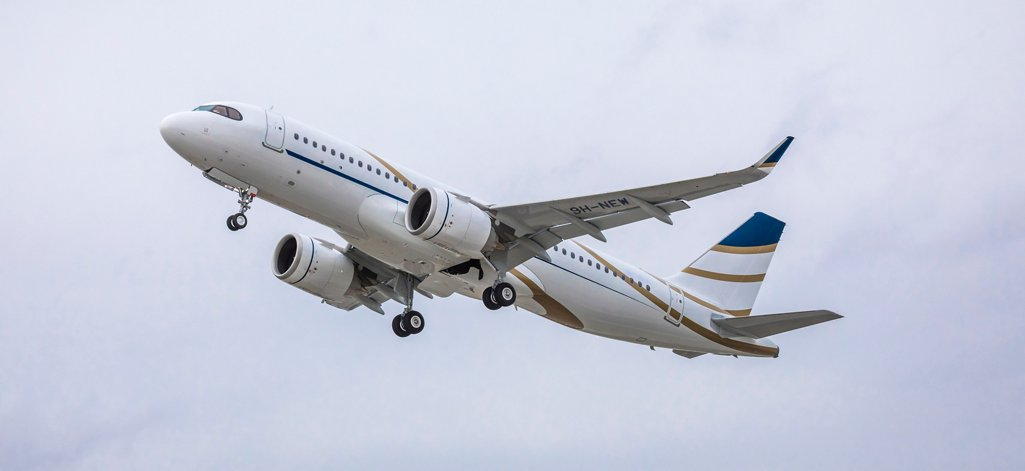 The first of three ACJ320neo Airbus corporate jets for Comlux was received in March 2019 by this company, which provides VIP charter solutions, aircraft operations and management services
