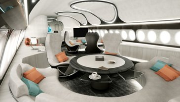 ACJ330neo Harmony cabin concept