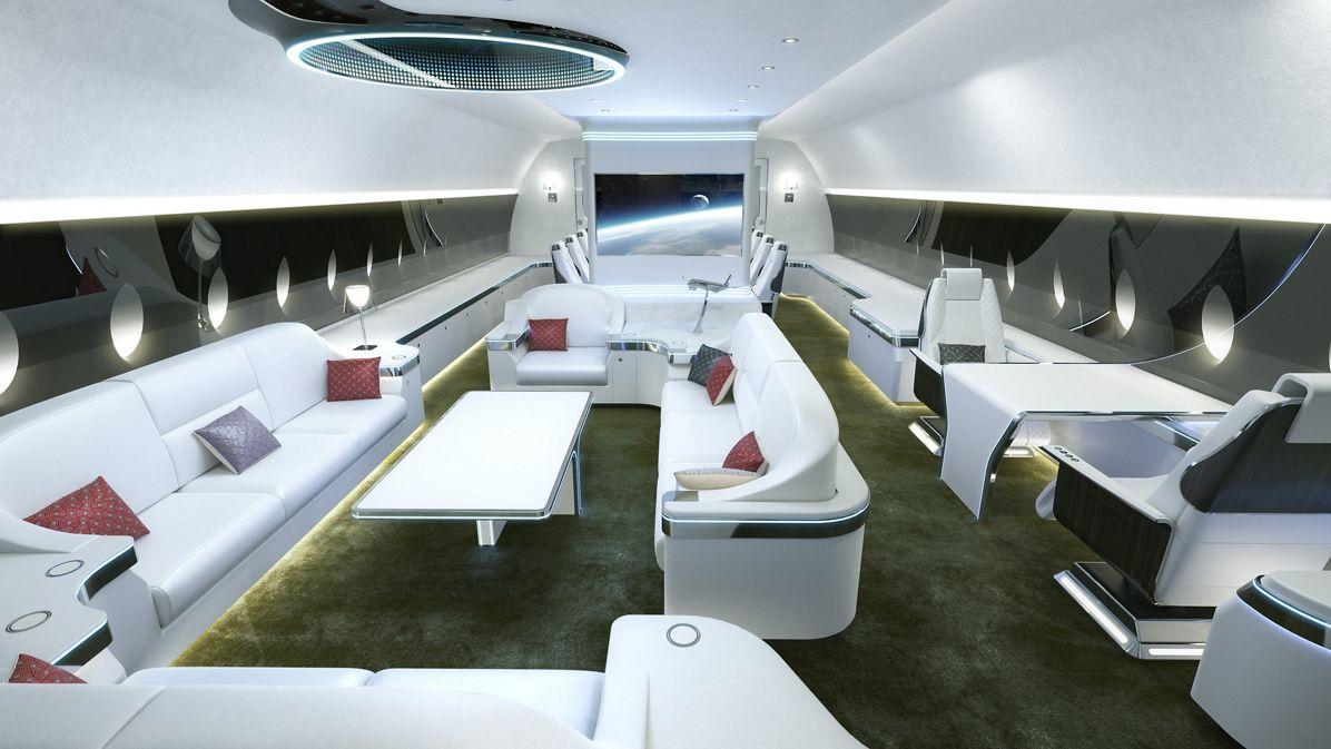 Airbus ACJ350 XWB cabin