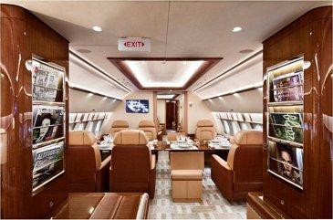 ACJ319 Acropolis Aviation interior