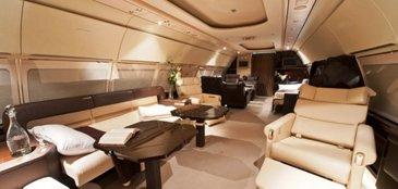 ACJ318 Constellation Aviation interior