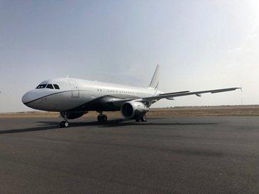 ACJ319 LX-GVV Global Jet exterior