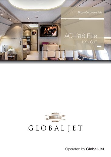 ACJ318 Elite LX-GJC Global Jet
