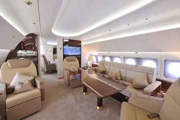 ACJ320 Master Jet interior