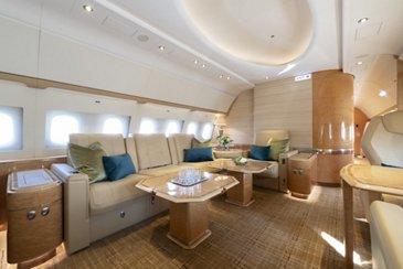 ACJ319 Nomad Aviation interior