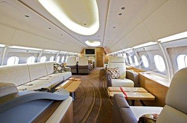ACJ319 Tyrolean Jet Services interior