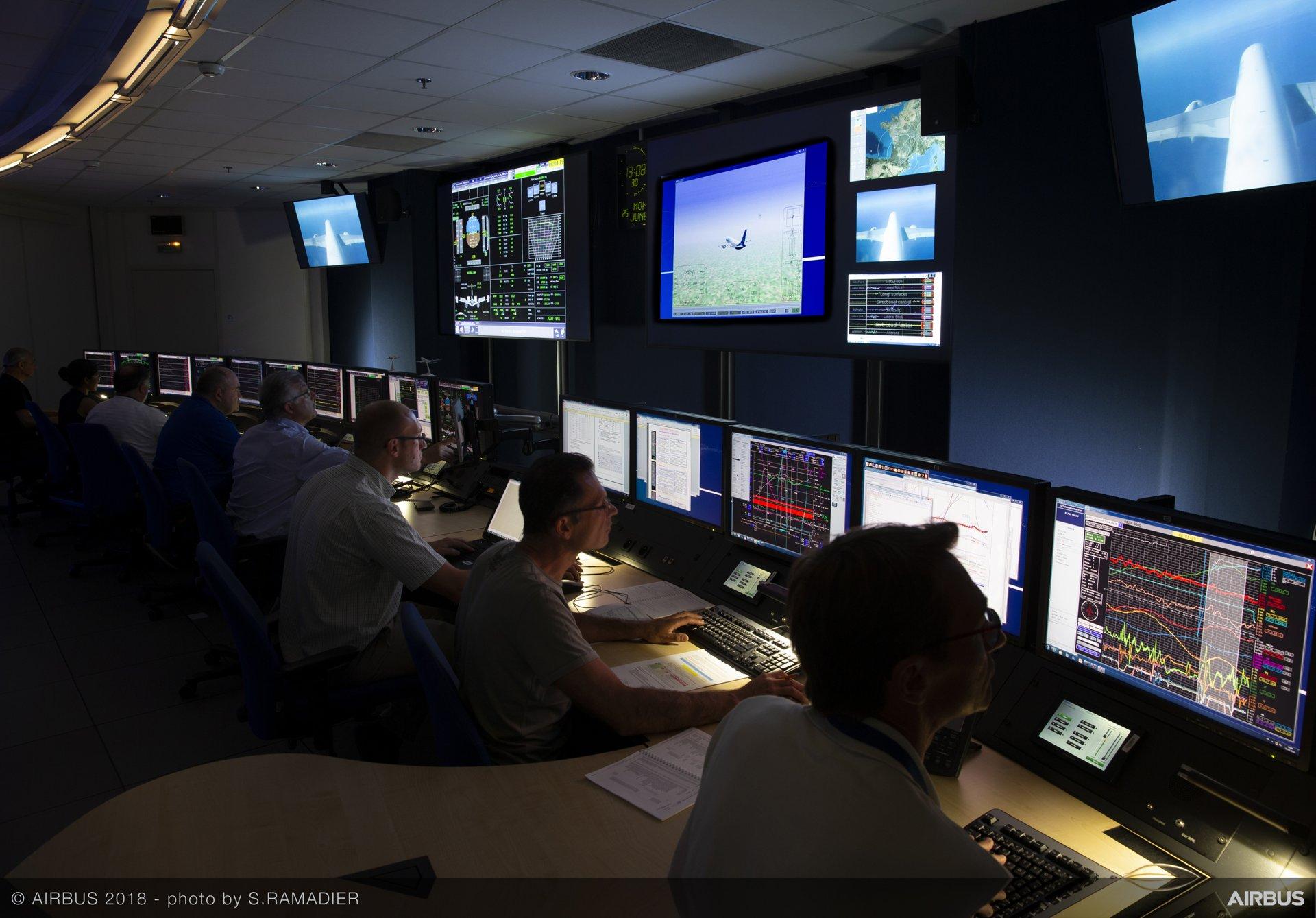 airbus telemetry centre provides vital flight test links