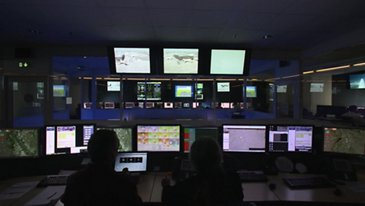 Flight tests: Airbus Telemetry Centre in Toulouse, France