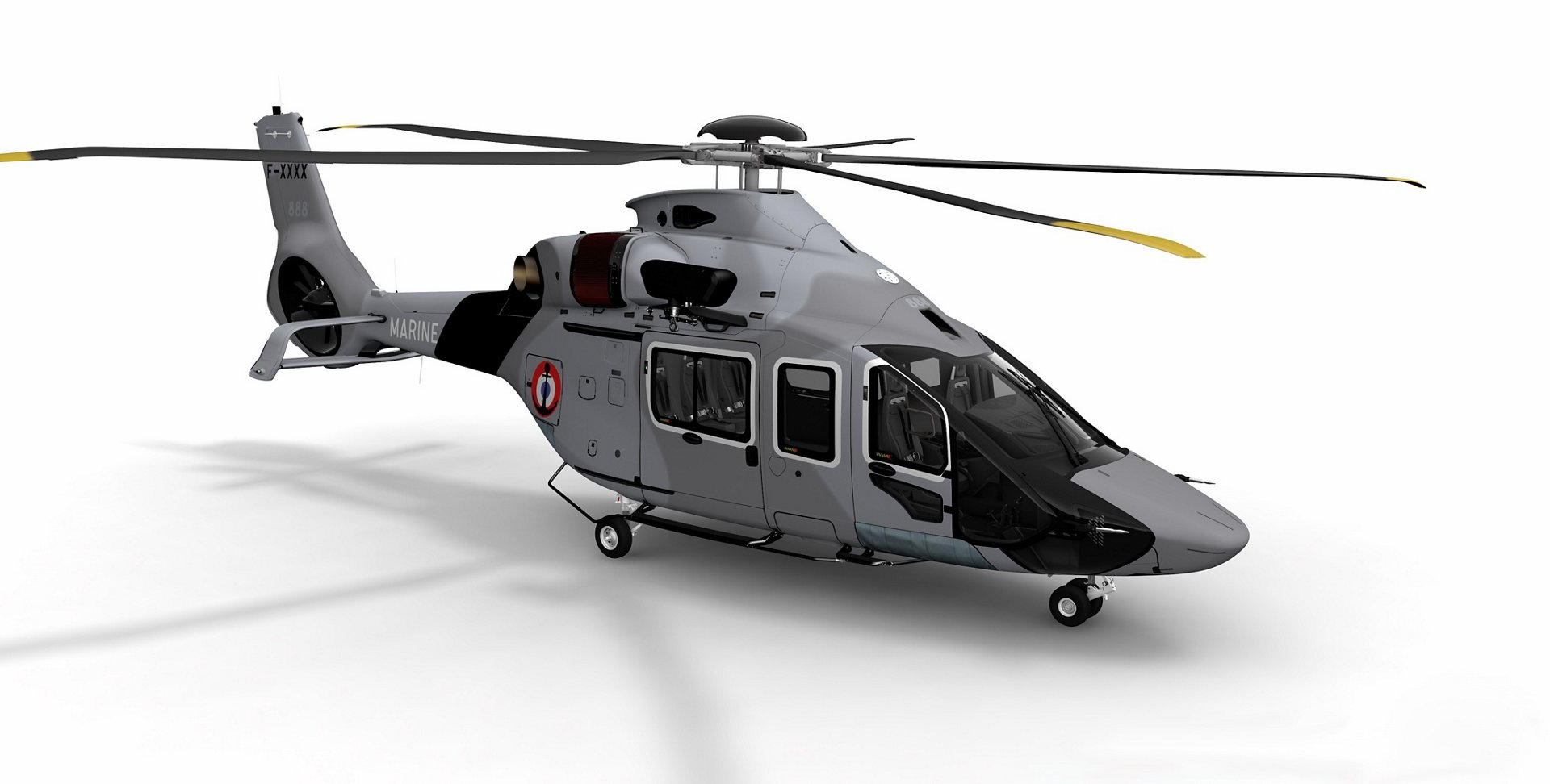 The French Armament General Directorate (DGA) has confirmed an option to  Airbus Helicopters, Babcock and Safran Helicopter Engines for two more H160s for the French Navy.