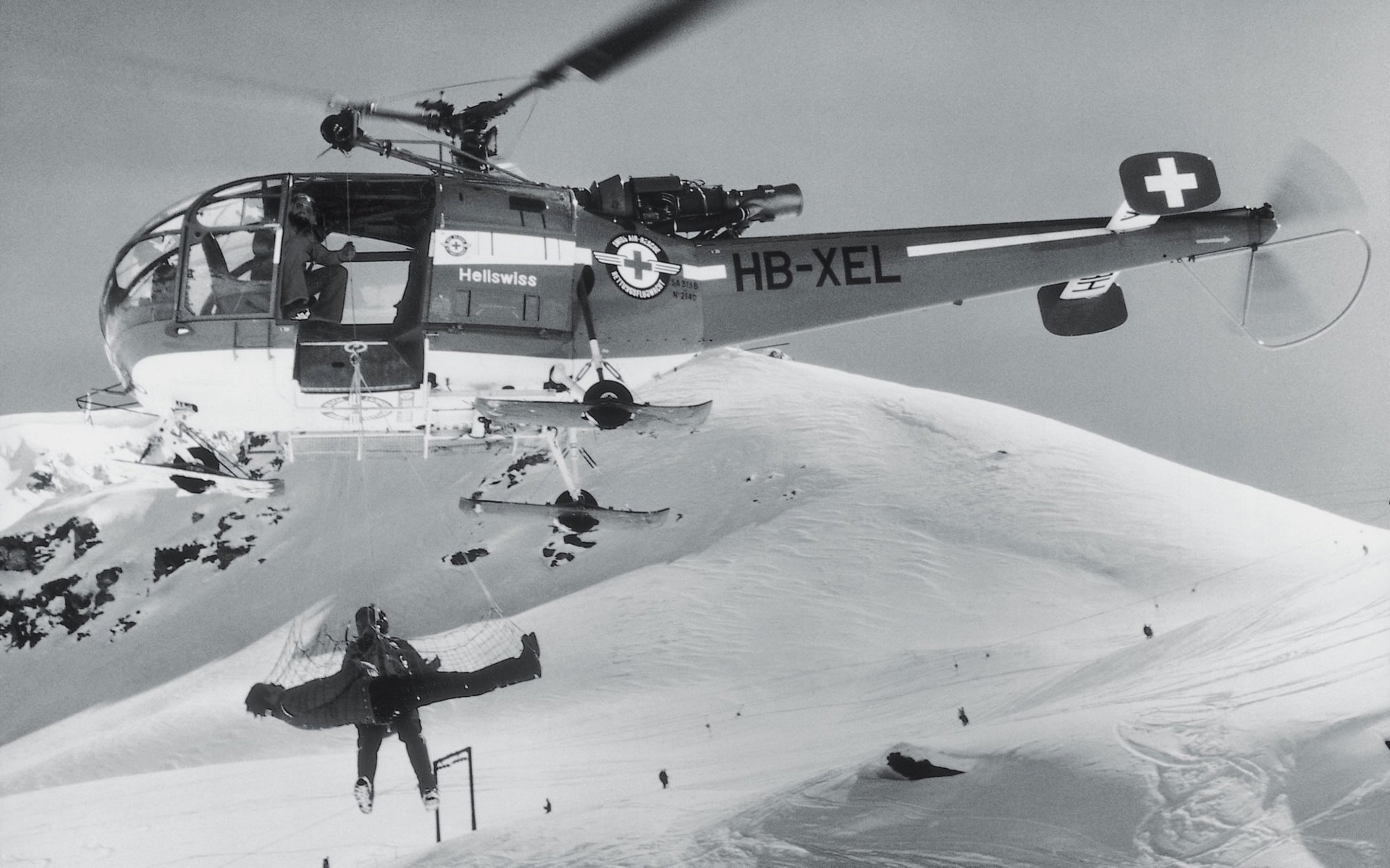 The Alouette III, which performed its maiden flight in 1959, quickly established itself as a helicopter capable of flying at very high altitudes