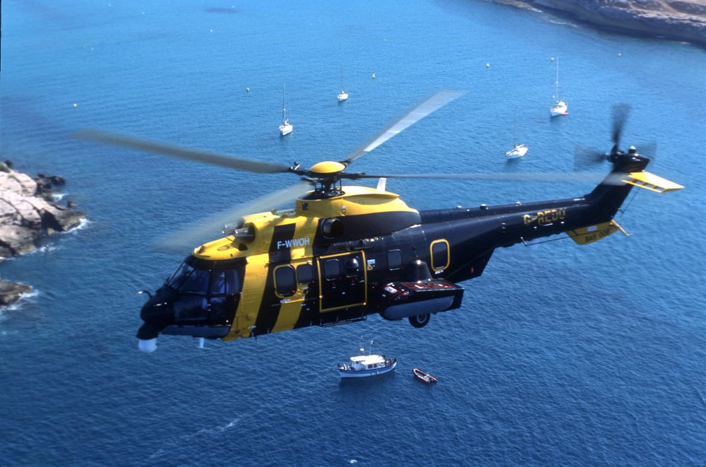 The AS332 L2 Super Puma is awarded British CAA certification in November 1992.