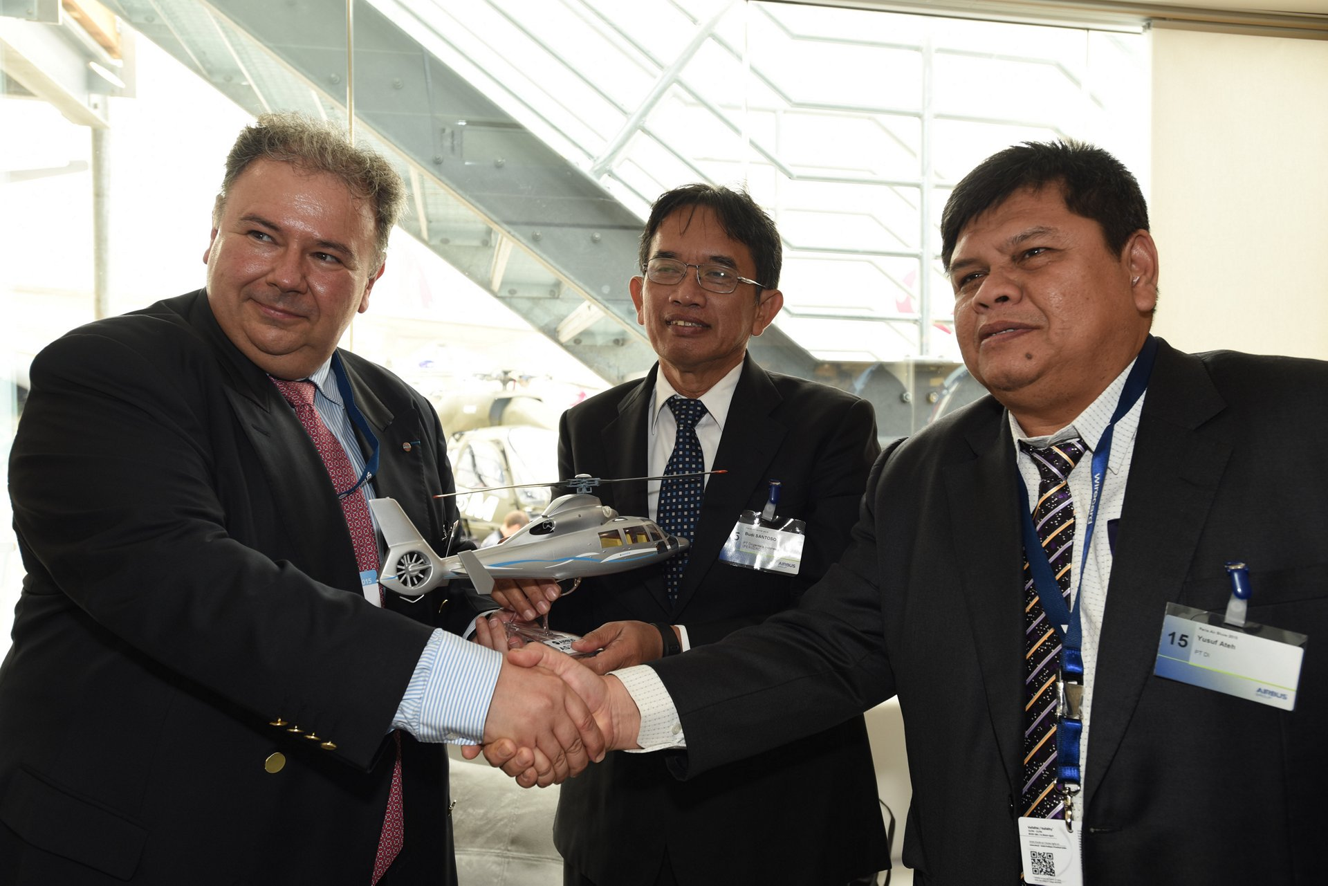 PT Dirgantara Indonesia acquires two AS365 N3+ Dauphin helicopters for search and rescue mission