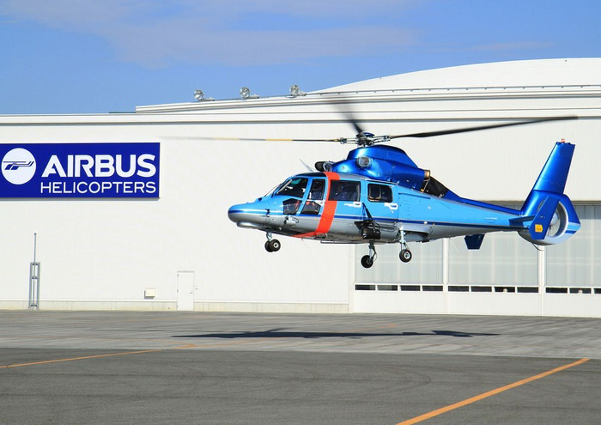 Five more Dauphin helicopters to serve Japanese in police and firefighting missions