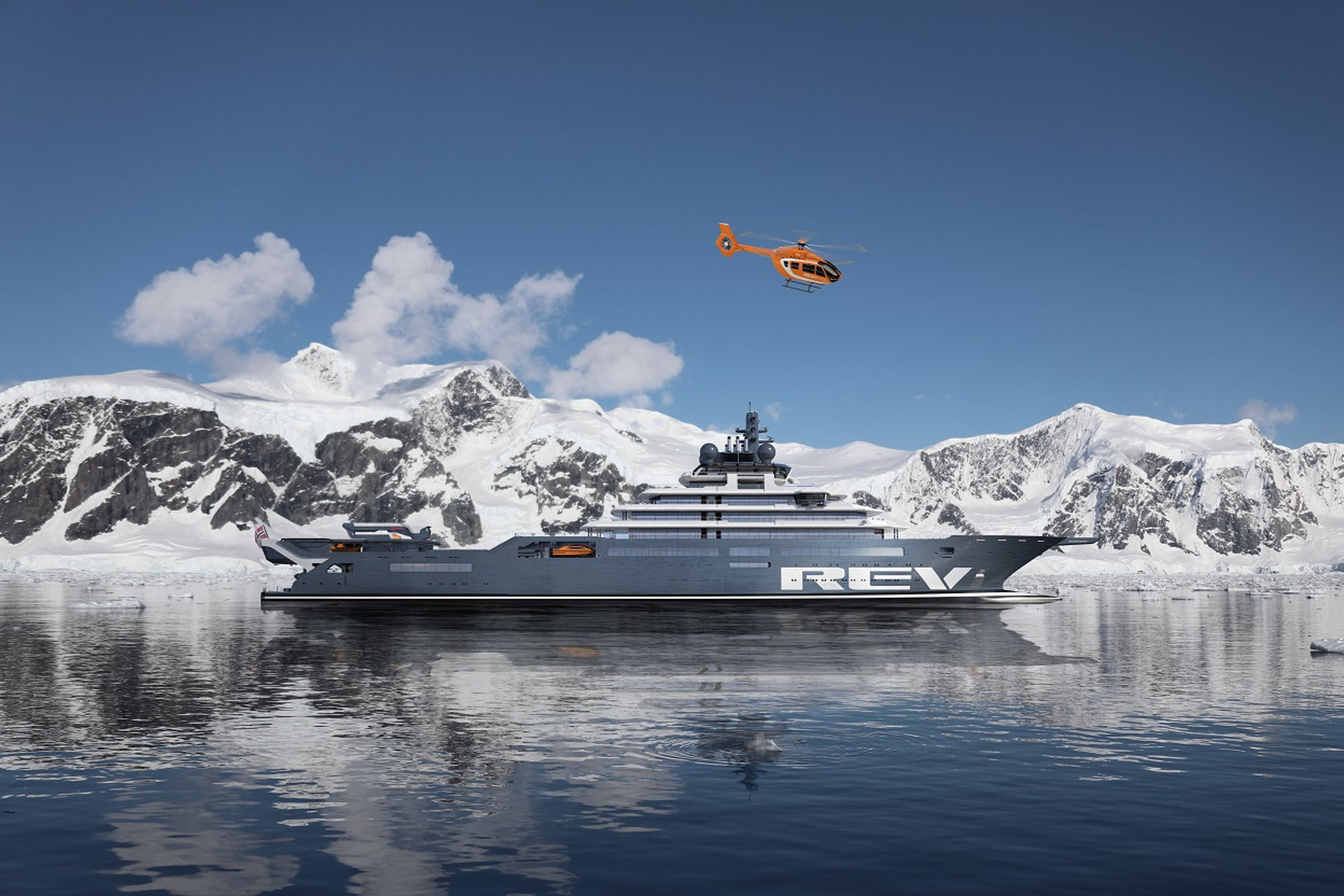 Airbus Helicopters is to provide the on-board helicopter for the REV Ocean research and expedition vessel – the world's largest superyacht.