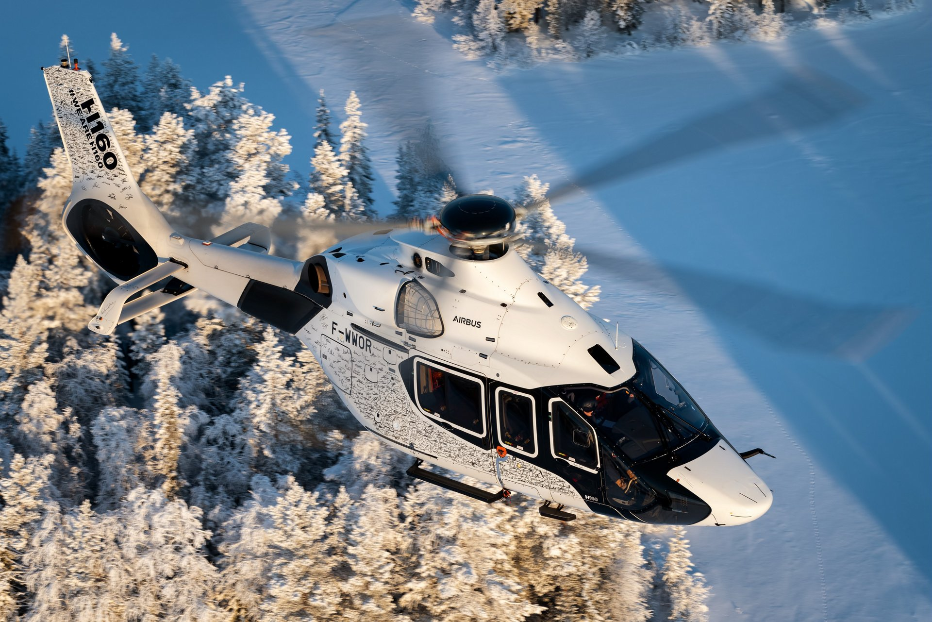 Airbus Corporate Helicopters (ACH) will this week begin demonstrating the world's most advanced medium helicopter – the ACH160 – to prospective customers at the Monaco Yacht Show, the world's foremost super yacht event.
