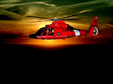 US Coast Guard MH-65