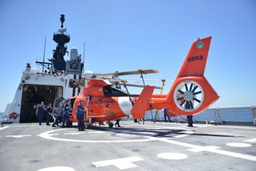 US Coast Guard Eastern Pacific Ocean