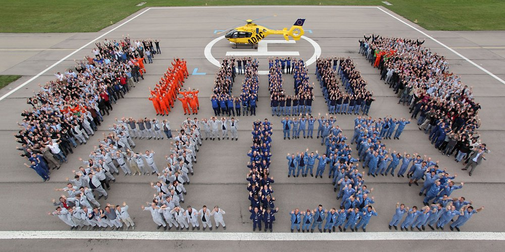 1,000th EC135 delivered