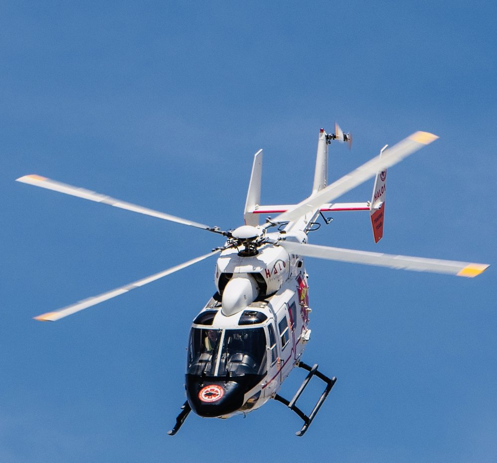 HALO Aviation is the only HEMS operator in South Africa that operates a doctor-based service, providing medical services to all South Africans through various government health departments with their six bases across the country and their fleet of four BK117s, a helicopter in the H145 family.
