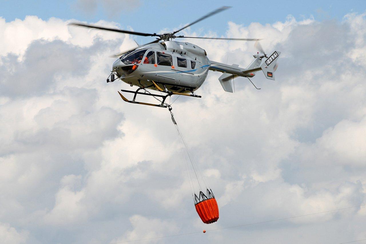 EC145-in-flight