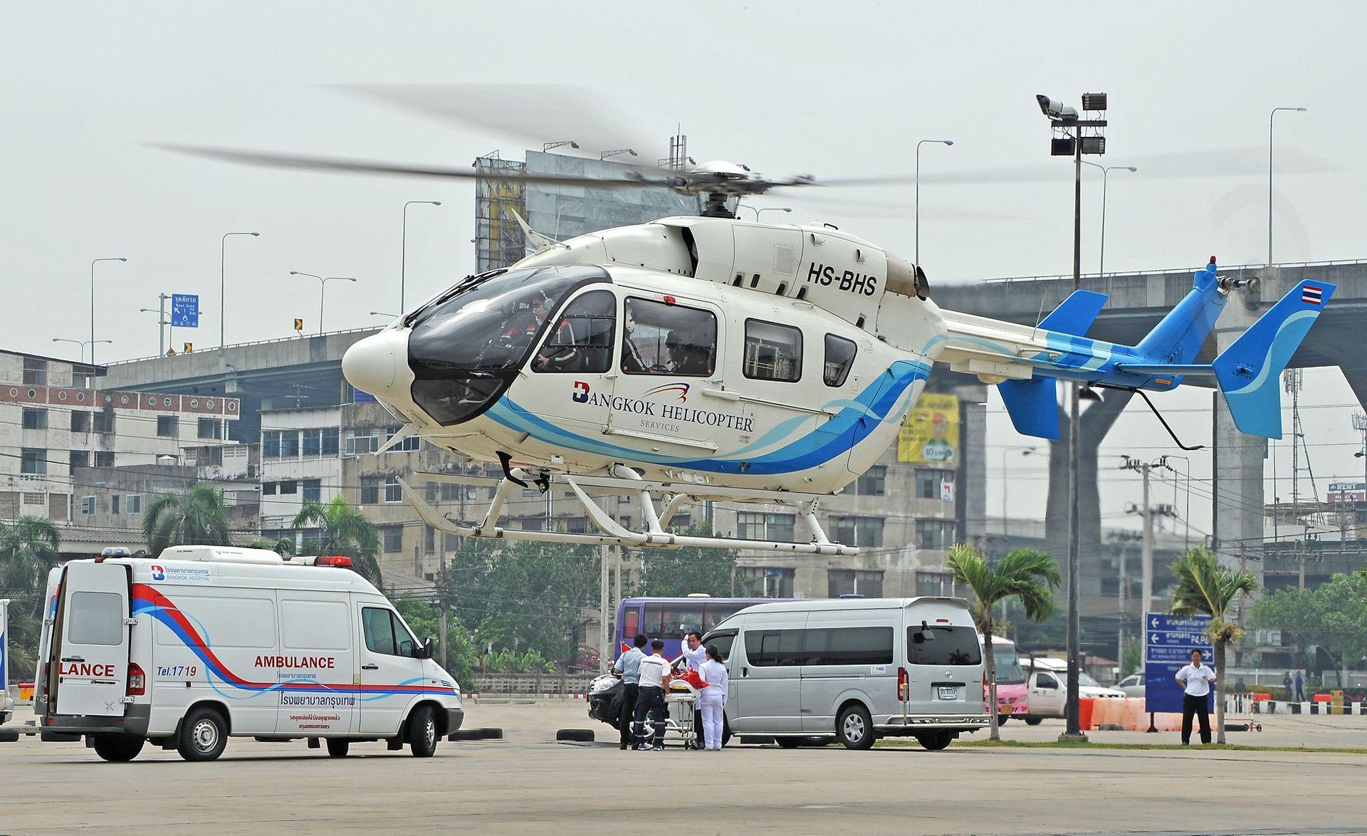 EMS EC145 Bangkok