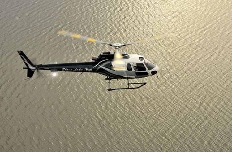 AS350-in-flight