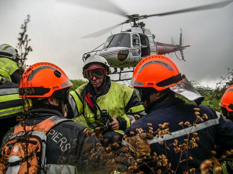 Firefighting team coordination