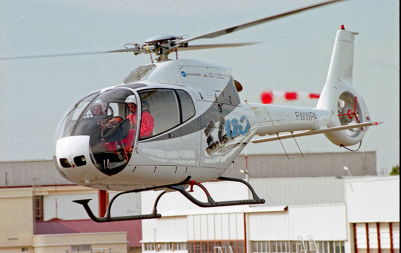 The maiden flight of the EC120