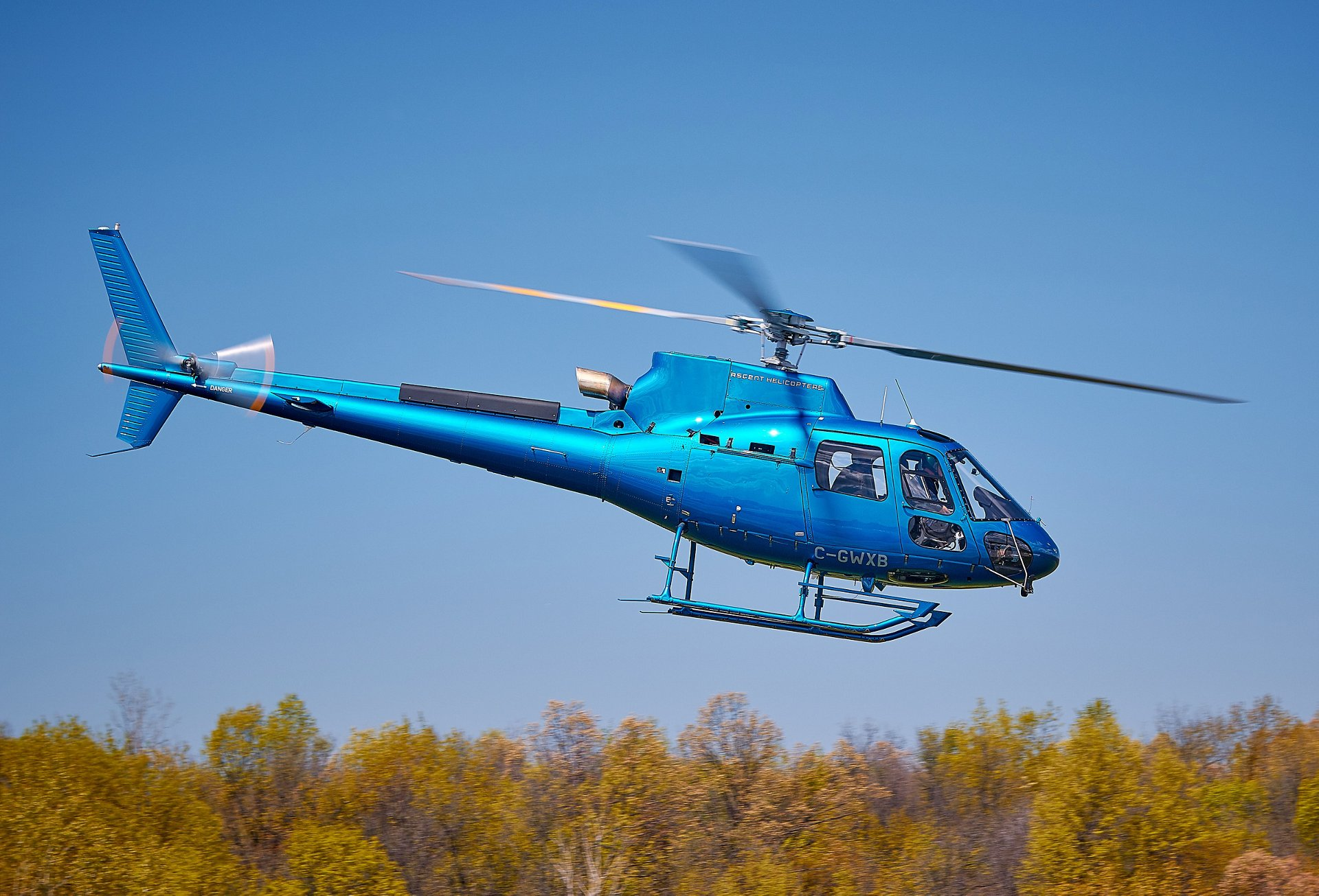Ascent Helicopters will use the single-engine aircraft in support of power line work and firefighting missions across Canada and the U.S. with its American partner, Heli-1 Corporation