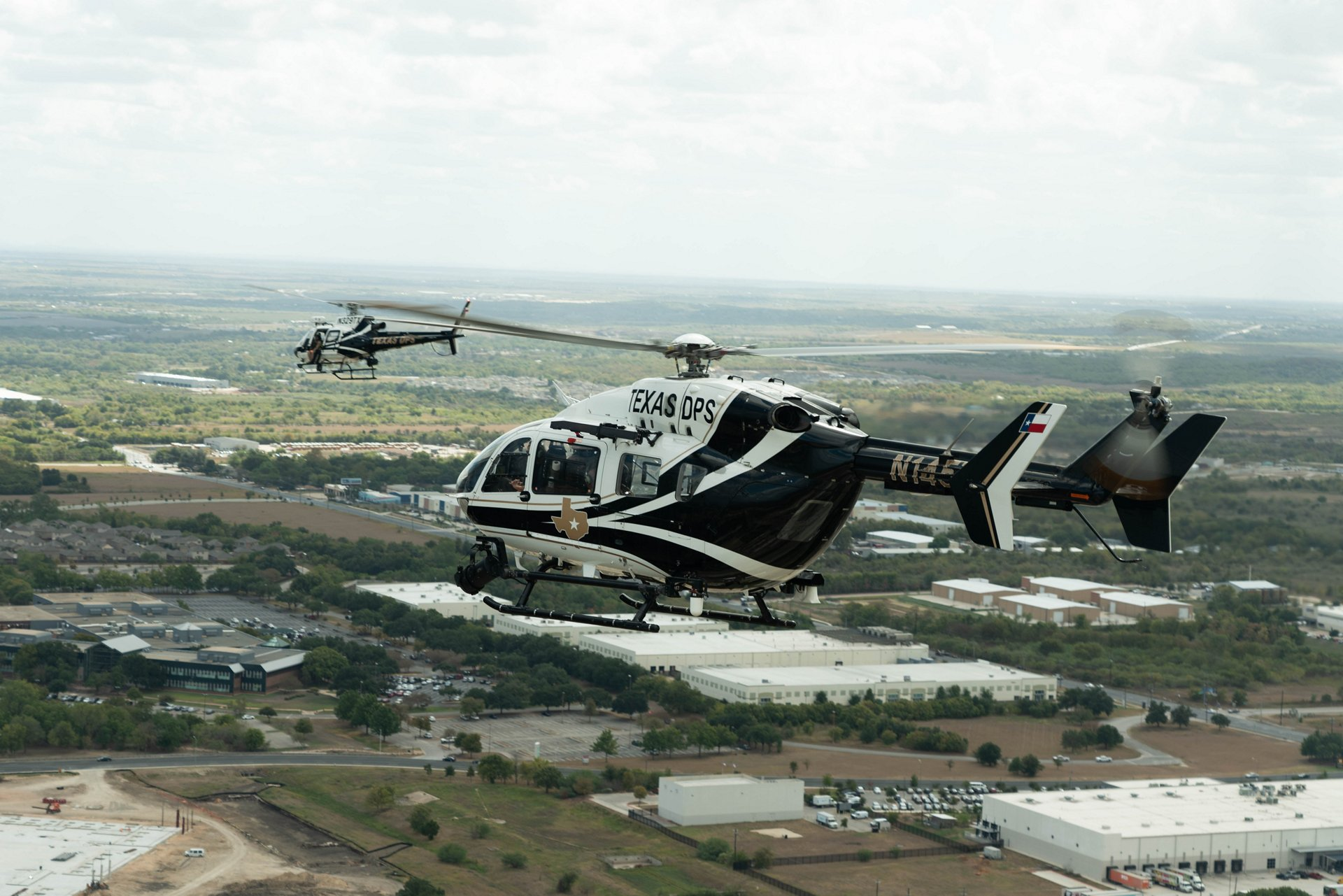The H125 is a firm favourite of the Aircraft Operations Division of the Texas Department of Public Safety (DPS), which has 14 of these helicopters to protect civilians from the air.
