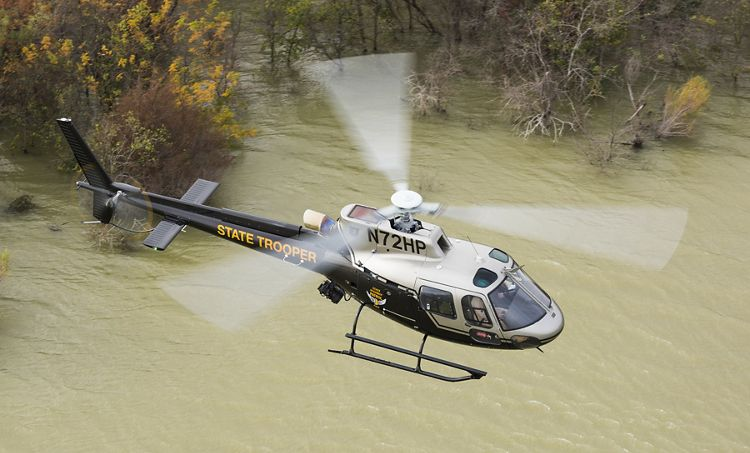 Ohio State Highway Patrol takes delivery of first H125 AStar produced on Airbus Helicopters Inc. U.S. final assembly line