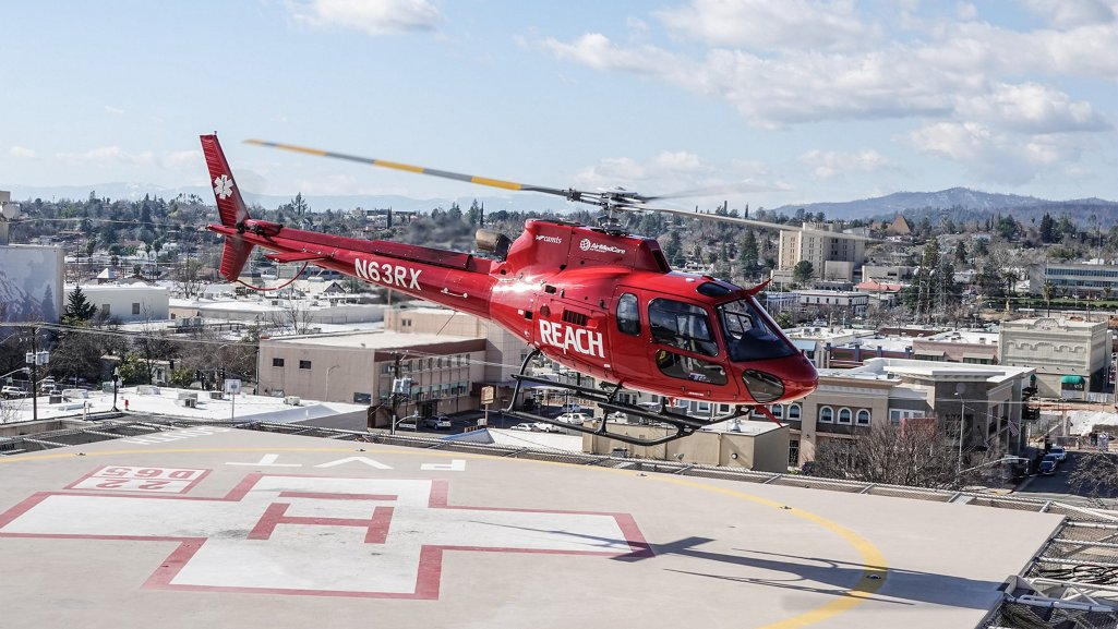 When configured for vital life-saving and emergency medical transportation, the H125 can carry up to four people (1 pilot, 1 patient and 2 attendants) plus medical equipment.
