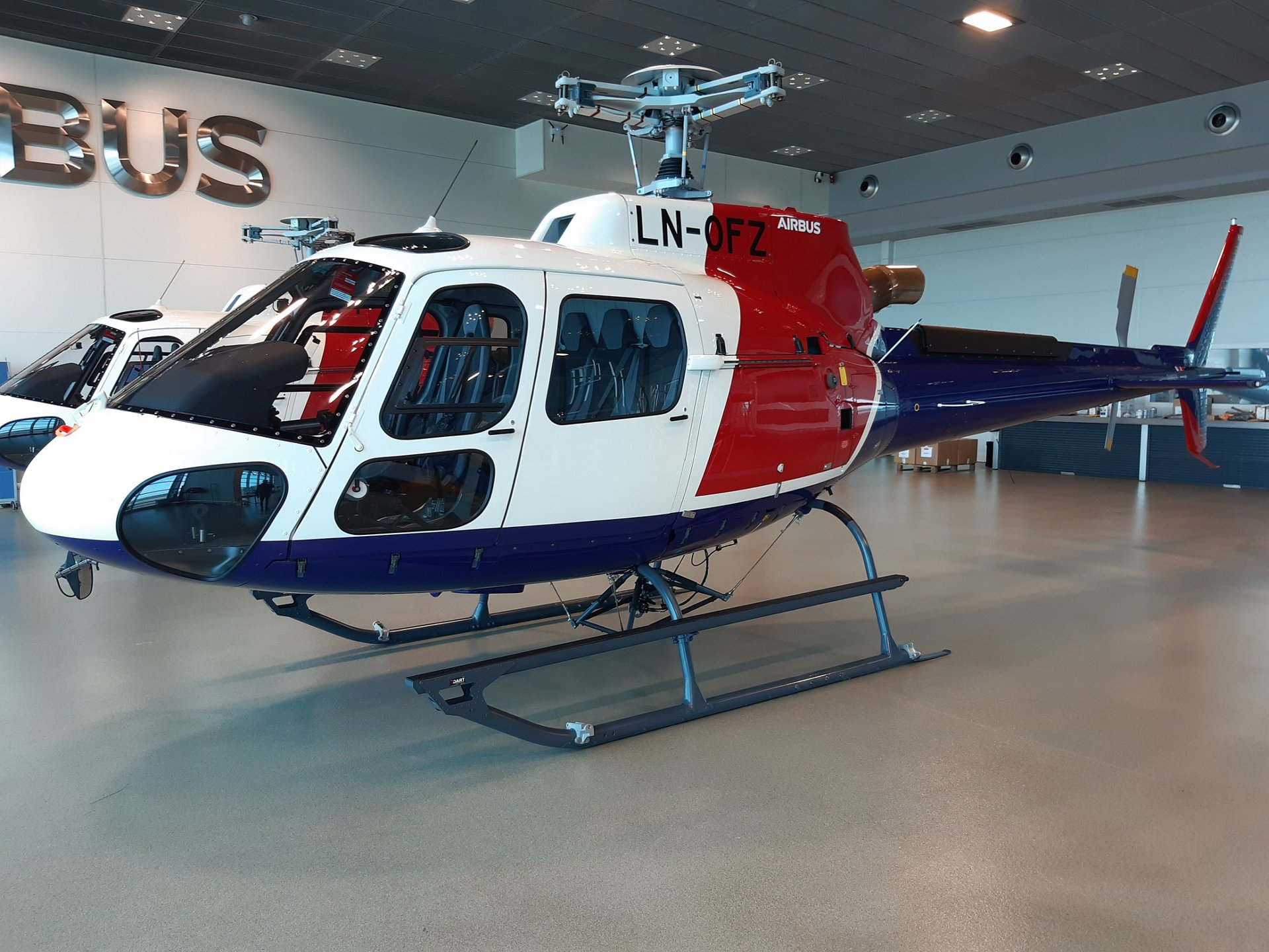 Helitrans of Norway has become the first customer to take delivery
